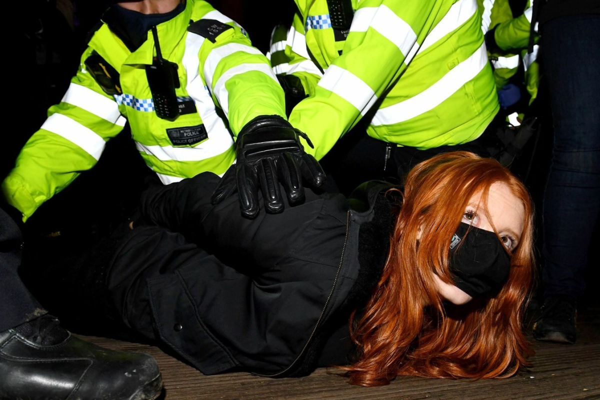 Sarah Everard news - Majority of Brits support police ...