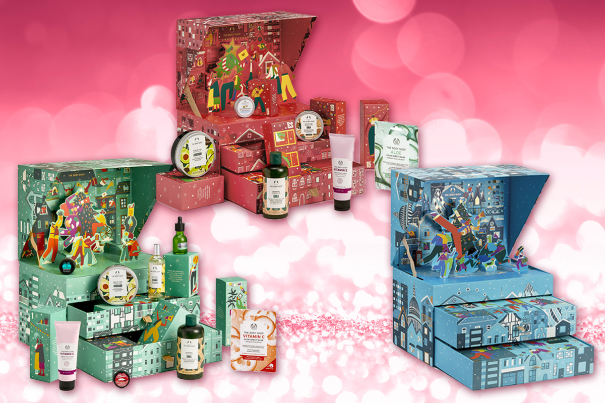 The Body Shop reveals their 2021 Advent Calendar and it ...
